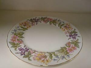 "VINTAGE PARAGON FINE BONE CHINA - COUNTRY LANE DINNER PLATE 10 3/4"" DIAMETER-TER"