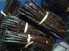 10 Gousses de Vanille Bourbon de MADAGASCAR Gourmet  grade A 15/16 cm