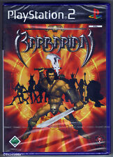 PS2 Barbarian (2003), German/Spanish Version, Brand New & Sony Factory Sealed