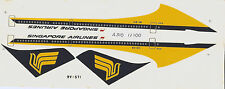 SINGAPORE AIRLINES A310 1:200 SCALE DECAL