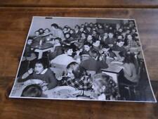 1960.Photographie cantine scolaire (école).