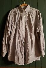 Genuine Men's Brooks Brothers 346 Non-Iron Long Sleeve Button Down Dress Shirt