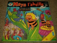 Maya L'Abeille Maya The Bee~RARE 1978 France Import Children's Story~Booklet