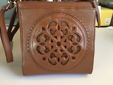 Brighton Nwt Ferrara Crossbody Leather Organizer Handbag Purse