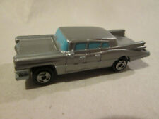 1989 Galoob Micro Machines 1959 Cadillac Limousine Limo Car (Silver) Mint