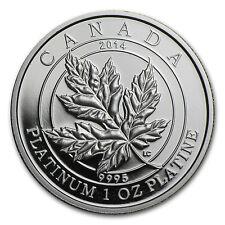 2014 1 oz Proof Platinum Canadian $300 Maple Leaf Forever