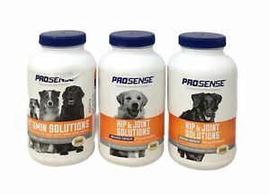 Pro Sense Glucosamine Hip & Joint Care For Dogs X2 + Vitamin Solutions Dogs X1