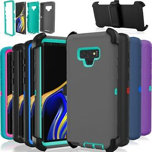 For Galaxy Note 9 Case Cover Shockproof (Fits Otterbox Defender Belt Clip)
