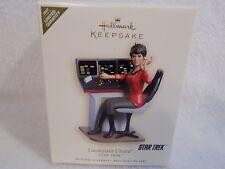 2007 Hallmark! Star Trek! Lieutenant Uhura! Christmas Ornament! Limited Qty!NIB!