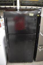 "New ListingGe Gie22Jtnrbb 33"" Black Top-Freezer Refrigerator Nob #106244"