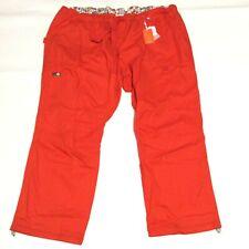 Koi By Kathy Peterson Red Plus Size Medical Dental Scrub Pants Womens Size 5X