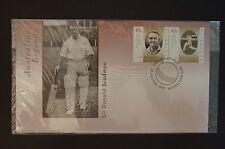 DON BRADMAN - Australian Legends - 1977 - First Day Envelope - Sealed
