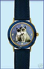 "Montre Chat SACRE DE BIRMANIE --Watch with ""BIRMAN CAT"""