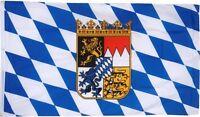BAVARIA CREST LION OKTOBERFEST BAVARIAN GERMAN FLAG 3x5 better quality us seller