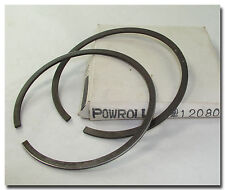 POWROLL 70mm PISTON RINGS TOP AND CENTER RING FROM #12080. OIL RING IS MISSING