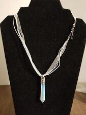 Opalite Prism Pendant Necklace           Z1/