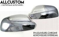 CHROME DOOR MIRROR COVER SIDE EXTERIOR CAPS for PEUGEOT 307 307CC CC SW 2001-08