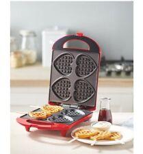 Ambiano Waffle Maker Heart Shaped