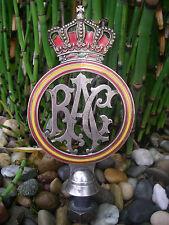 alte REAL AUTOMÓVIL CLUB DE ESPAÑA 1920 Plakette Car Club Auto Badge RAC Spanien