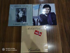 Roberto Carlos lotto 3 LP 33 giri vinile