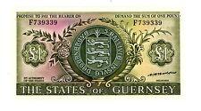 Guernsey ... P-45b ... 1 Pound ... ND(1969-75) ... *UNC*