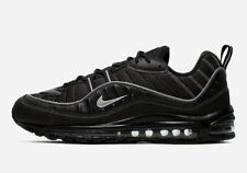 Nike Air Max 98 Black Oil Grey White Men's Trainers Brand New Various Sizes