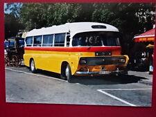 PHOTO  MALTA BUS REG DBY 445 AT VALLETTA
