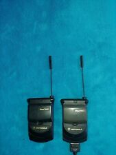 Vintage Collectible Motorola StarTac Lot of 2  - Alltel Flip Phone Cell