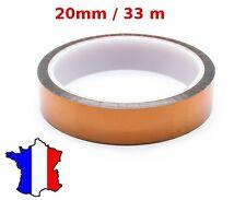 film adhésif 20mm scotch Kapton Polyimide pour électronique - Haute température