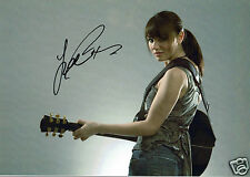 Samantha Barks Film Actress Les Miserables Hand Signed Photograph 12 x 9
