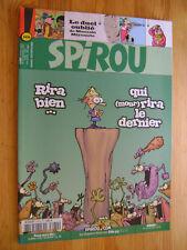Journal de Spirou n° 3474 + poster Gaston FRANQUIN