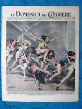 La Domenica del Corriere 4 maggio 1947 Parigi - Tanganica - Nazionale Italia