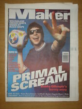 MELODY MAKER 1996 JUN 15 PRIMAL SCREAM EURO 96 THE CURE