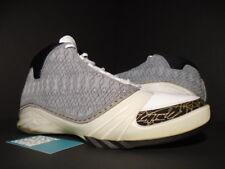 2008 Nike Air Jordan XX3 23 XXIII WHITE STEALTH GREY BLACK GOLD 318376-102 11