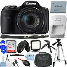 Canon PowerShot SX540 HS (Black) 1067C001 + 32GB + Flash + Tripod Bundle