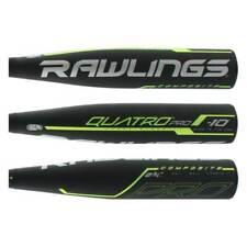"NIW 2019 Rawlings Quatro Pro 28/18 (-10) 2 3/4"" USSSA Comp Baseball Bat UT9Q10*"