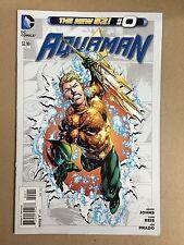 AQUAMAN # 0 (2012) FIRST PRINT DC COMICS NEW 52 JUSTICE LEAGUE GEOFF JOHNS
