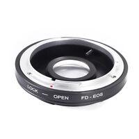 Canon FD Lens to Canon EOS EF Mount  Adapter 5D 60D 550D 700D 650D Optical Glass