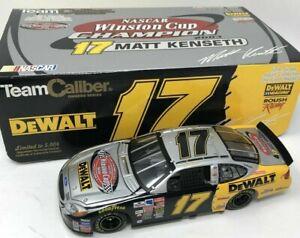 MATT KENSETH 2003 DEWALT NASCAR WINSTON CUP CHAMPION 1/24 VICTORY LAP 1/5,004