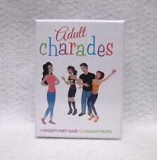 Adult Charades Game 480 Cards Ez Adult Fun Party Birthday Gift Gag Favor Night