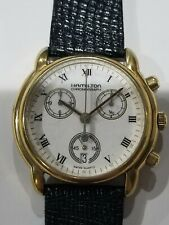 Hamilton 8804 Swiss Quartz Chronograph - Runs