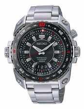 Seiko Men's SNQ039 Dress Perpetual Calendar 100M Stainless Steel Quartz Watch