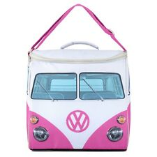 Volkswagen camper van large cooler bag pink officially licensed
