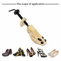One Pair 2-Way Women Men Wooden Adjustable Shoe Stretcher Expander Shaper Tree