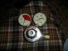 Vintage HARRIS GAUGES Gas Oxygen Regulator 4 Parts & Repair Steampunk Art !