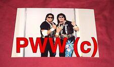 SST,Pro Wrestlers,Wrestling Photo,4x6,Rare,Samoan Swat Team,WCCW,Tag Belts,Posed