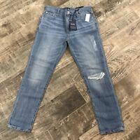 Gap 1969 NWT Women's Best Girlfriend Distressed Jeans Blue Size 27