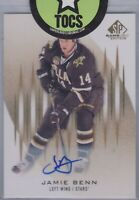 Jamie Benn 2013-14 SP Game Used Gold Signature Dallas Stars SP