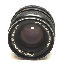 Vintage Konica Hexanon AR 50mm f1.7 Normal Prime Standard SLR lens OFFER
