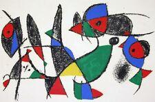Joan Miro Lithographe Volume II - Original Mourlot Lithograph IX M.1049 - 1975